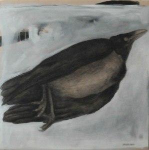 Artwork by Maher Abdo - crow